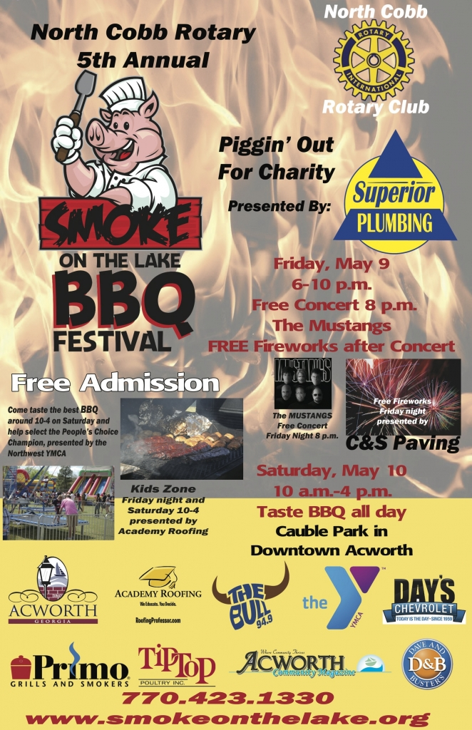 Smoke On The Lake Bbq Festival Academy Roofing